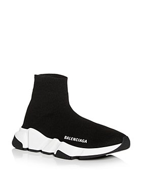 Balenciaga - Women's Knit High Top Platform Sneakers