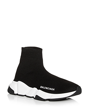 Balenciaga Women's Knit High Top Platform Sneakers