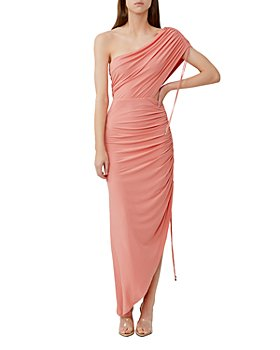 Significant Other - Sirene Ruched One Shoulder Dress