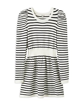 Habitual Kids - Girls' Puff Sleeve Jersey Knit Dress - Big Kid