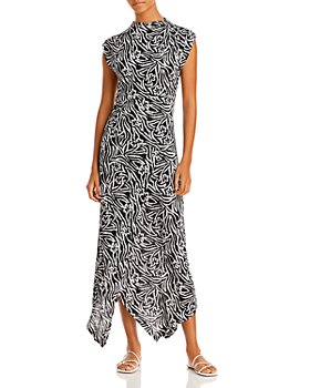 Rebecca Taylor - Zebra Lily Printed Dress
