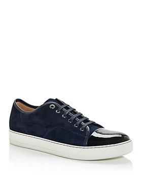 Lanvin - Men's Cap Toe Low Top Sneakers