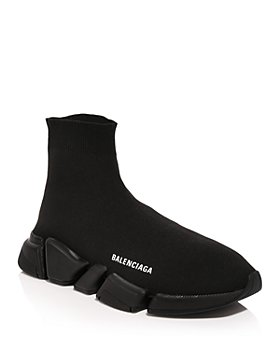 Balenciaga - Men's Speed 2.0 Knit High Top Sneakers