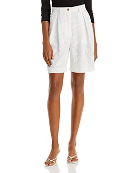MSGM - Lace Bermuda Shorts