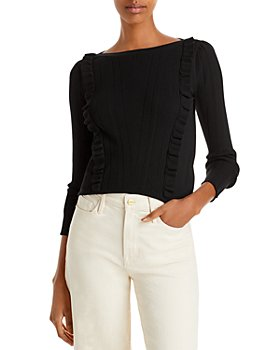 See by Chloé - Ruffled Ribbed Sweater