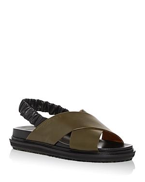 Marni Women\\\'s Fussbett Criss Cross Slingback Sandals