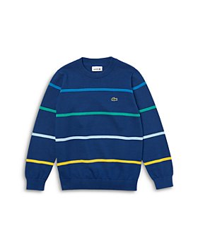 Lacoste - Boys' Striped Sweater - Little Kid, Big Kid