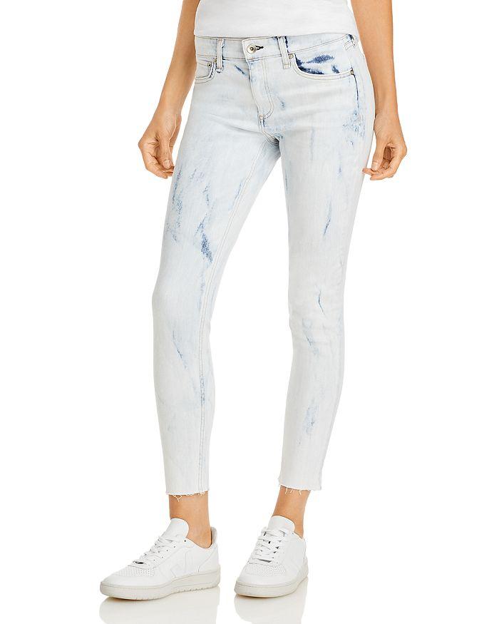 rag & bone - Cate Cropped Skinny Jeans in Oasis