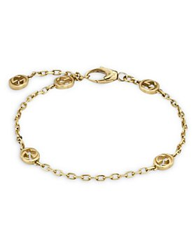 Gucci - 18K Yellow Gold Interlocking G Link Bracelet