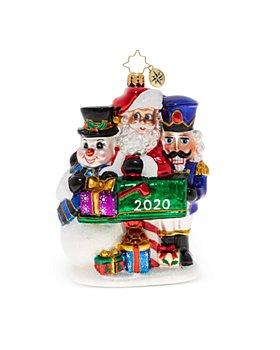 Christopher Radko - A Forever Treasured Trio 2020 Ornament