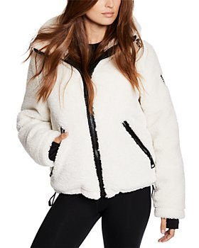 SAM. - Bailey Hooded Fleece Puffer Coat