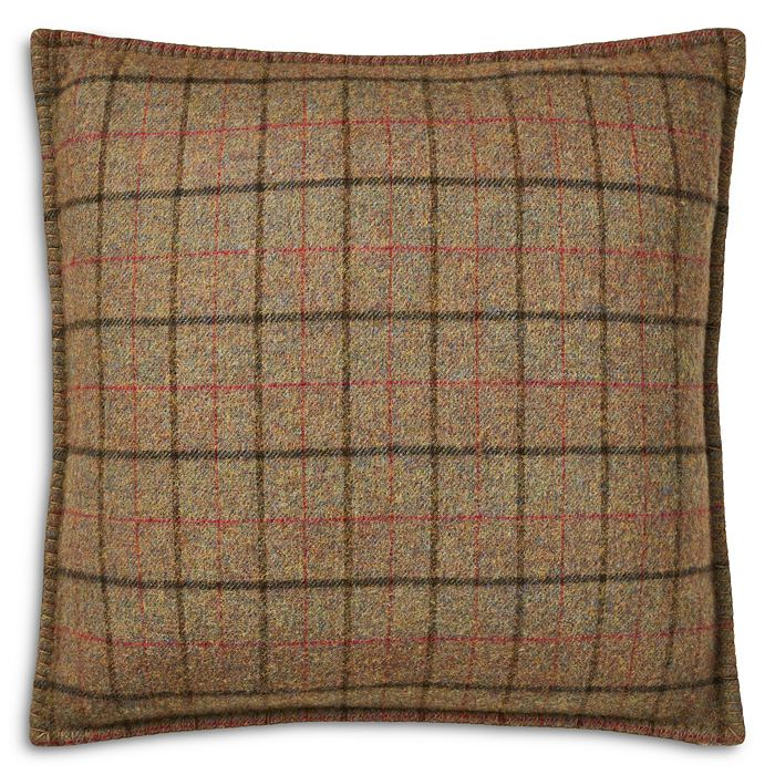 Ralph Lauren - Grosvner Plaid Throw Pillow