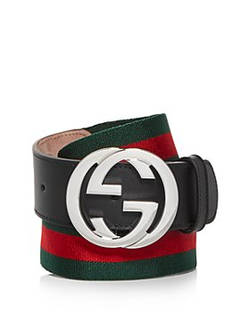 Gucci - Men's Double G Buckle Web Belt