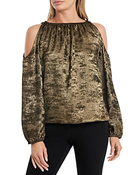 1.STATE - Cold Shoulder Blouse