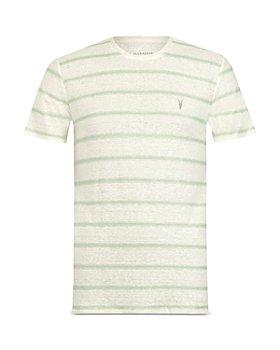 ALLSAINTS - Vehicle Linen Striped Tee