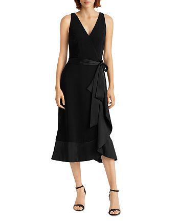 Ralph Lauren - Ruffle Trim Jersey Dress