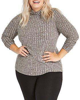 NIC and ZOE Plus - Plus Champion Turtleneck Sweater