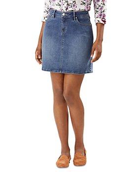 Tommy Bahama - Boracay Indigo Jean Skirt in Medium Ocean Wash