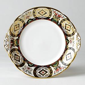 Royal Crown Derby Chelsea Garden Cake Plate, 9