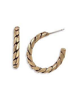ALLSAINTS - Small Chain Hoop Earrings