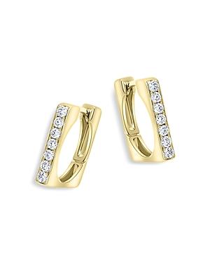 Bloomingdale's Diamond Square Hoop Earrings in 14K Yellow Gold, 0.30 ct. t.w. - 100% Exclusive