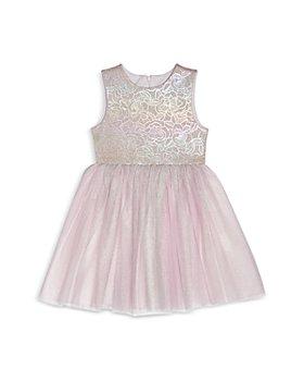 Pippa & Julie - Girls' Floral Holographic Tutu Dress - Baby