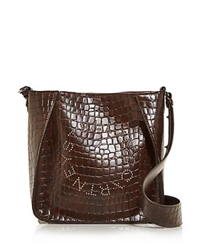 Stella McCartney - Croc Embossed Mini Crossbody