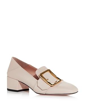 Bally Women\\\'s Janelle Block-Heel Loafers