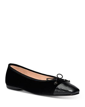 kate spade new york - Women's Pavlova Square Toe Leather Flats