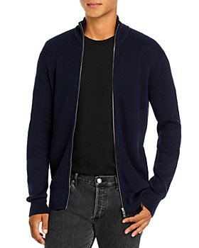 Theory - Walton Zip Up Ribbed Sweater - 100% Exclusive
