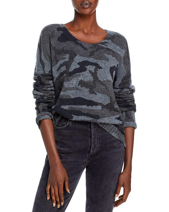 Rails - Louie Camo Print Sweater