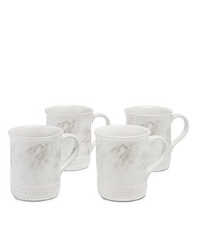 Le Creuset - Marble Applique Coffee Mugs, Set of 4 - 100% Exclusive