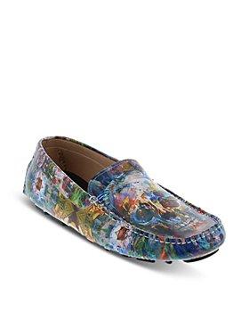 Robert Graham - Men's Brushwork Printed Slip On Loafers