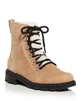 Sorel - Women's Lennox Shearling Booties - 100% Exclusive