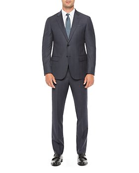 Armani - Regular Fit Solid Wool Suit