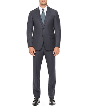 Regular Fit Solid Wool Suit