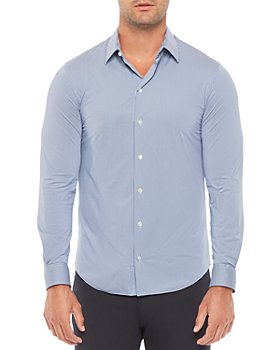 Armani - Regular Fit Solid Stretch Shirt