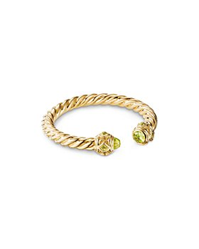 David Yurman - Renaissance Ring in 18K Yellow Gold with Peridot