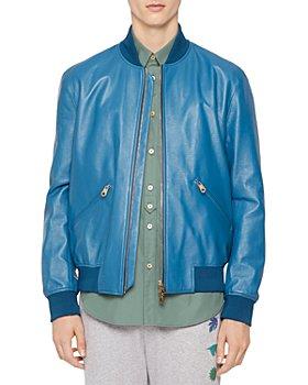 Paul Smith - Epi Leather Bomber Jacket