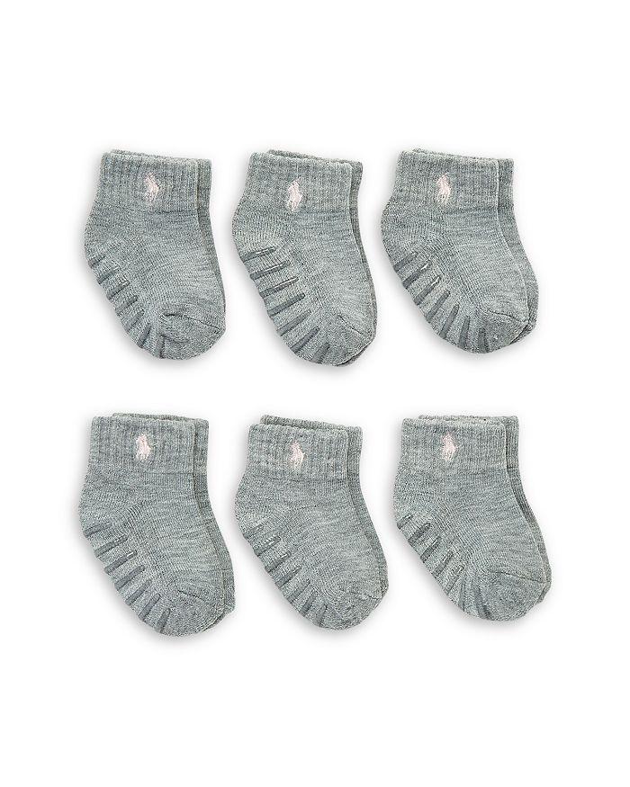 Ralph Lauren - Girls' Socks, 6 Pack - Baby