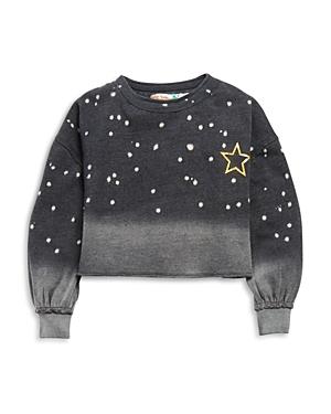 Vintage Havana Girls' Star Cropped Sweatshirt - Big Kid