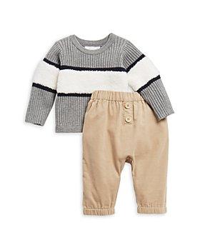 Miniclasix -  Boys' Sweater & Corduroy Pants Set - Baby