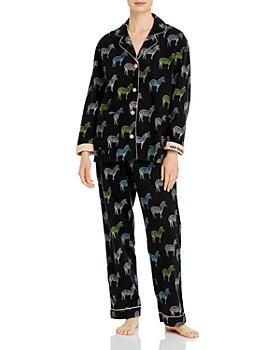 PJ Salvage - Printed Flannel Pajama Set