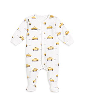 FIRSTS by petit lem - Unisex Taxi Print Footie - Baby