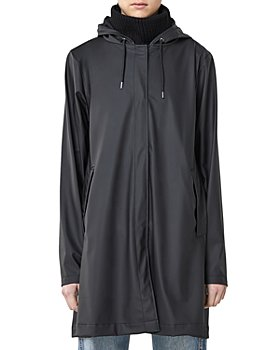 Rains - Hooded A Line Jacket
