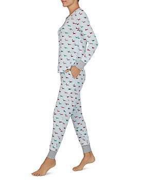 kate spade new york - Printed Long Sleeve Pajama Set