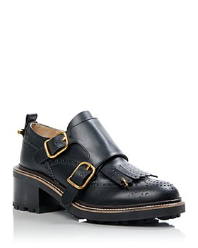 Chloé - Women's Franne Double Buckle Dress Shoes