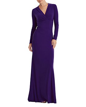 Ralph Lauren - Embellished Detail Jersey Gown