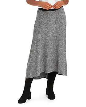 NIC and ZOE - Cozy Aside Knit Midi Skirt