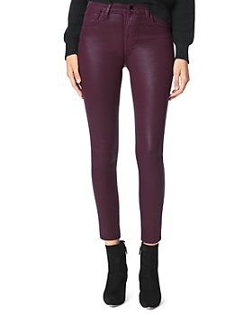 Joe's Jeans - The Charlie Skinny Coated Ankle Jeans in Siren